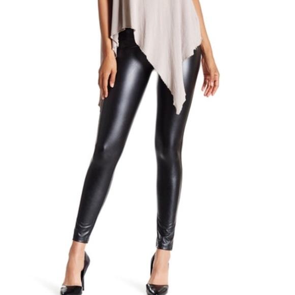 2fc1abd2d20a3 David Lerner Pants | New Vegan Faux Leather Black Legging | Poshmark